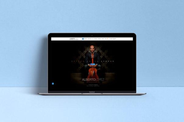 Alberto López Guitarrista - Diseño Web
