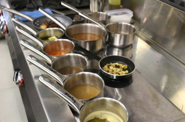Preparación cocina kaliSkka