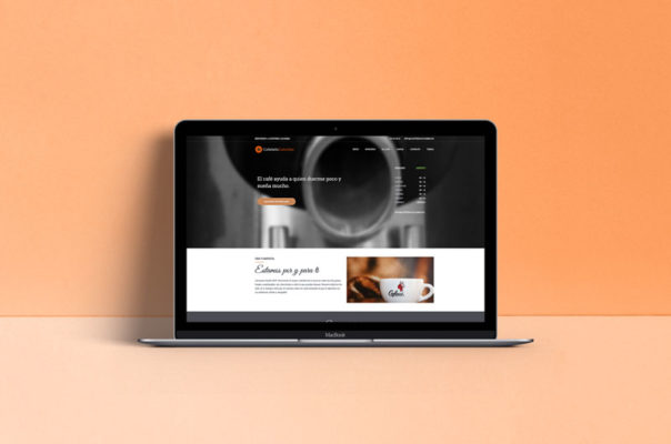 Cafeteria Colombia Baza - Diseño Web