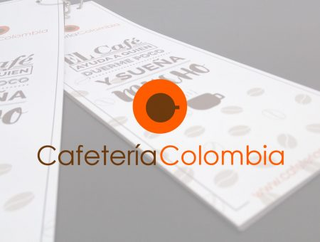 Carta Cafetería Colombia
