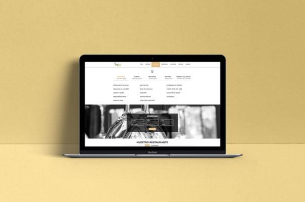 Diseño Web Baza - Cortijo Narvaez Hostal Rural